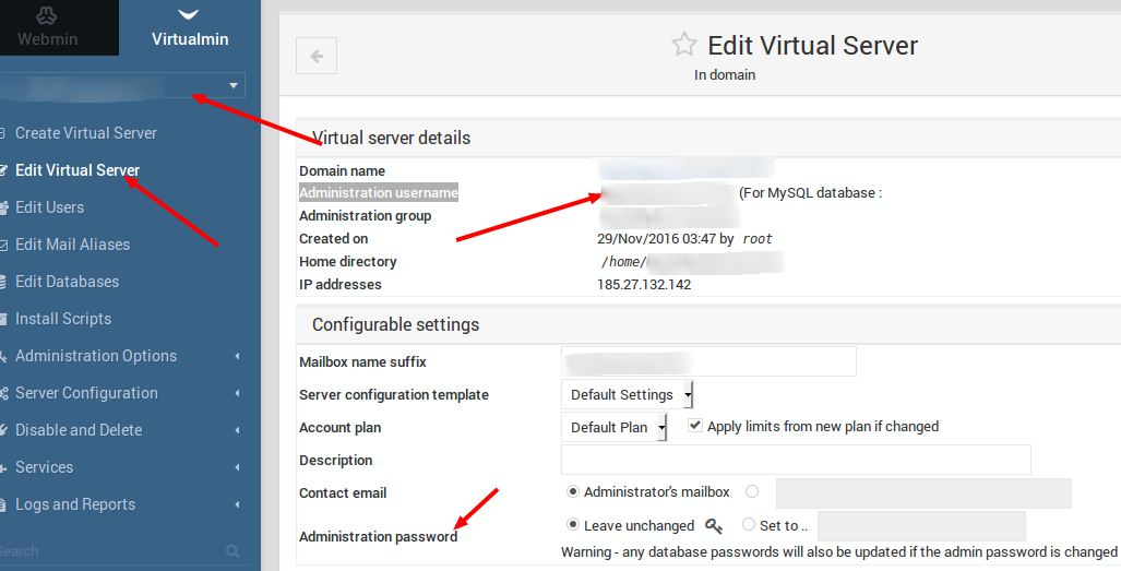 How To Use Virtualmin Panel Hosting Knowledgebase